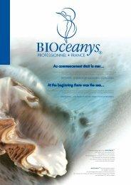 Fiche gamme Bioceanys - Cosmétiques et ambiances et de provence