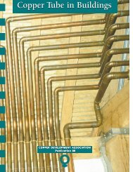 Pub 88 Copper Tube in Buildings - Copper Development Association