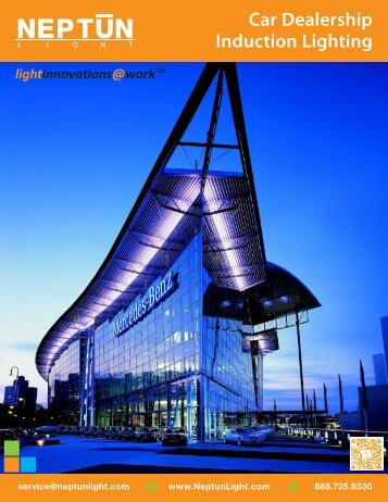 Car Dealership Lighting Solutions Brochure - Neptun Light
