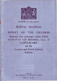 ministry of transport - The Railways Archive
