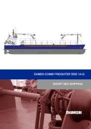 DAMEN COMBI FREIGHTER 5500 1A-G SHORT SEA SHIPPING