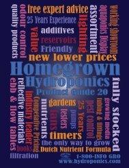 ontario - Homegrown Hydroponics