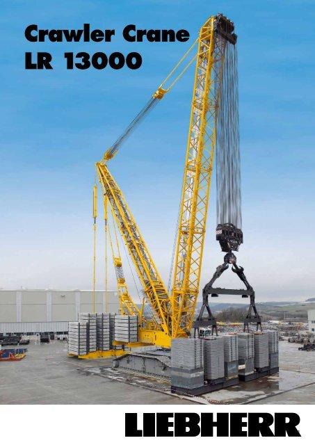 Crawler Crane LR 13000 - Liebherr