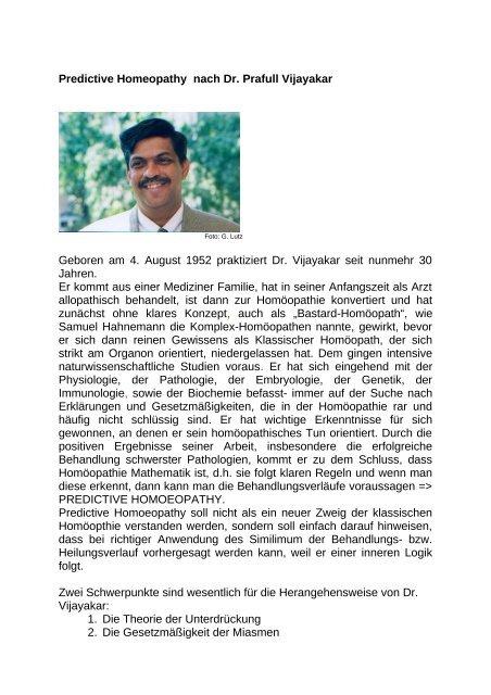Predictive.Homeopathy.Dr.Prafull.Vijayakar - Heilpraktiker für ...