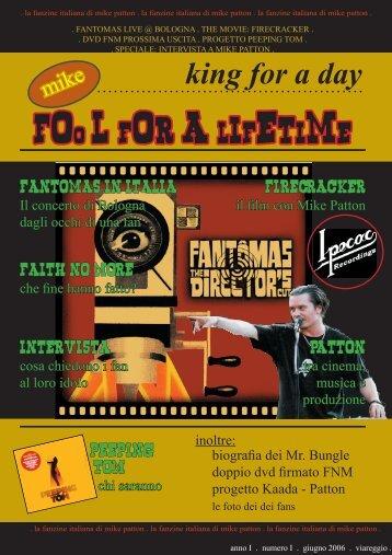 fanzine MP.indd - DELÌRIVM FANTÔMAS - Altervista