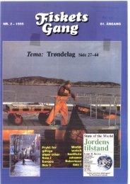 Fiskets Gang. Nr 2. 1995 - Havforskningsinstituttet