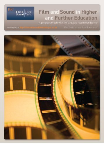 Film and Sound in Higher and Further Education