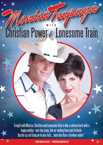 """""""A night with Monica, Christian and Lonesome ... - Monica Trapaga"""