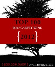 To View 2012 Top 100 Catalog - Red Carpet Wine and Spirits