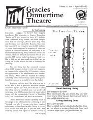 Gracies Dinnertime Theatre - Hell's Kitchen