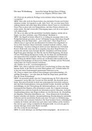 Die neue Weltordnung Armin Risi befragt Michael Boren ... - ZepTep