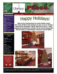 Stop by the Tasting Room for some holiday cheer! We invite all Wine ...