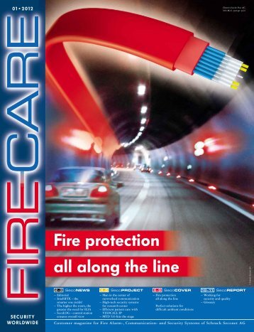 Fire protection all along the line