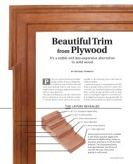 Beautiful Trim from Plywood - Fine Homebuilding