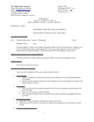 English 60A Syllabus & Guidelines - Riverside Community College