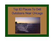 Top 10 Places To Get Outdoors Near Chicago