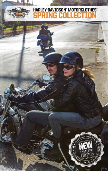 MotorClothes Spring Collection! - Harley-Davidson