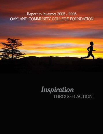 Inspiration - Oakland Community College