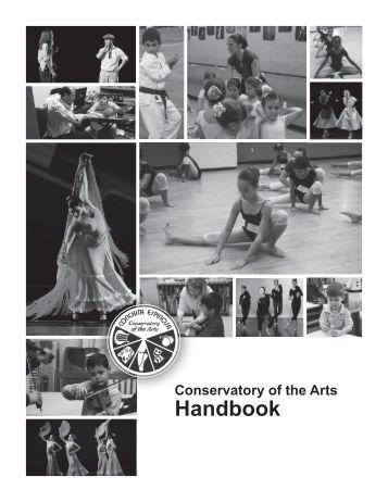 Conservatory Handbook - Conchita Espinosa Academy