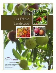 Our Edible Landscape - Aggie Horticulture