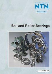Ball and Roller Bearings - NTN Bearing