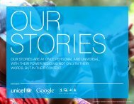 OUR STORIES ARE AT ONCE PERSONAL AND ... - Jonathan Jarvis
