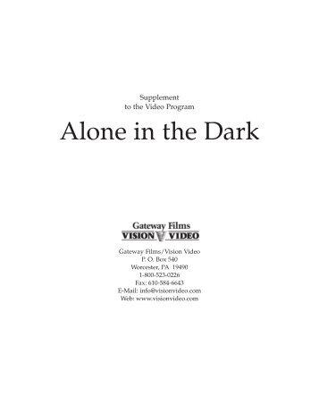 Alone In the Dark Study Guide - Vision Video