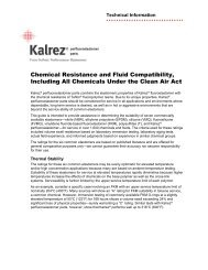 Chemical Resistance - Darcoid Rubber Company