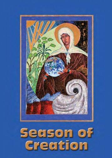 Season of Creation - Anglican Communion Environmental Network