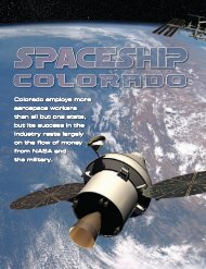 Colorado employs more aerospace workers than all but ... - Todd Neff