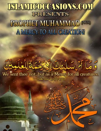 Prophet Muhammad (pbuh): A mercy to all creation!