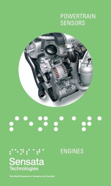 ENGINES POWERTRAIN SENSORS - Sensata