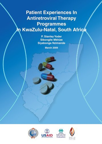 Patient Experiences In Antiretroviral Therapy Programmes In ...