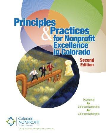 Principles Practices Principles Practices - Colorado Nonprofit ...