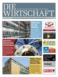 Die WIrtschaft Nr. 17 vom 29. April 2011