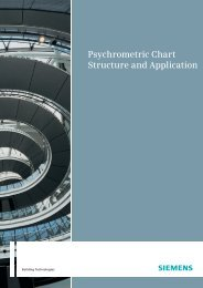 Psychrometric Chart Structure and Application - Siemens Building ...