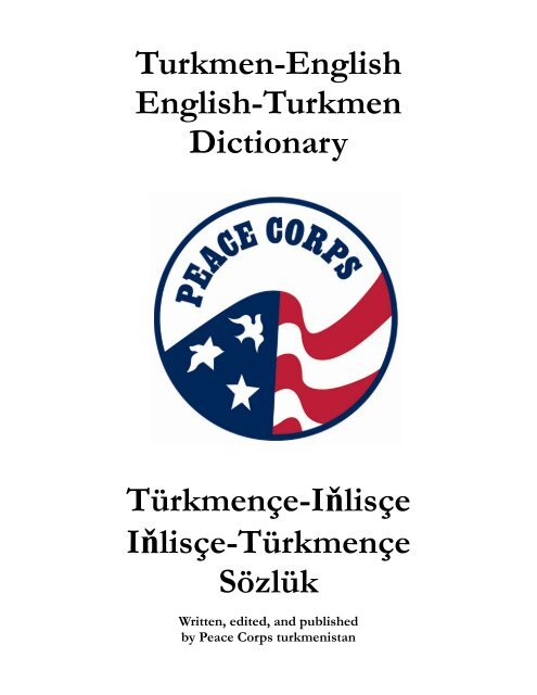 Turkmen-English English-Turkmen Dictionary     - Photo Gallery