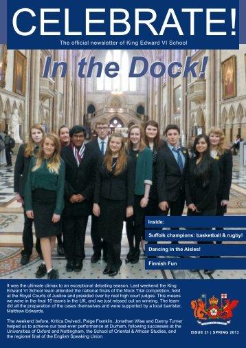 In the Dock! In the Dock!