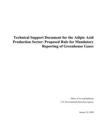 Adipic Acid Production (PDF) - US Environmental Protection Agency