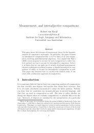 Measurement, and interadjective comparisons - Multiple Choices ...