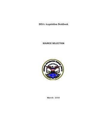 DISA Acquisition Deskbook - Acquisition Central