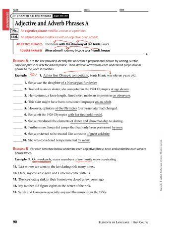 adverbial phrases adverb worksheets. Black Bedroom Furniture Sets. Home Design Ideas