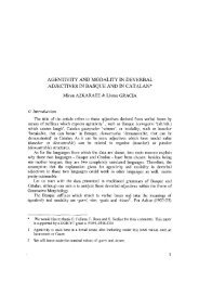 AGENTIVITY AND MODALITY IN DEVERBAL ADJECTIVES ... - Lear