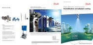 Humidification and Adiabatic Cooling - Danfoss