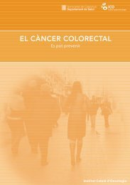 EL CÀNCER COLORECTAL