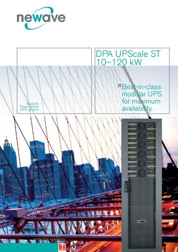 DPA UPScale ST 10–120 kW - alp enerji sistemleri