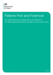 Patients First and Foremost