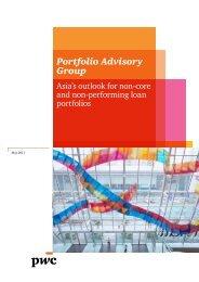 Portfolio Advisory Group review - PwC