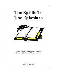 Ephesians Study Guide - Executable Outlines