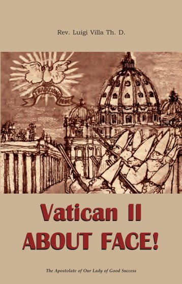 Vatican II ABOUT FACE! - Chiesa viva
